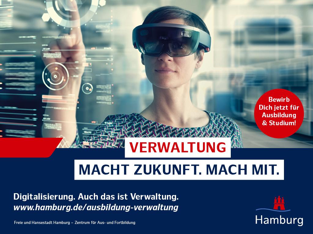 duales Studium Verwaltung Hamburg - Public Management - gehobener Dienst -  Diplom Verwaltungswirt - hamburg.de