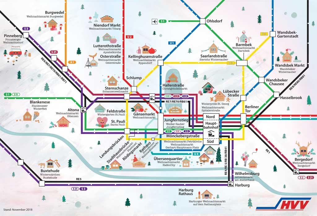 Hvv Karte Ringe.Hvv Karte Karte