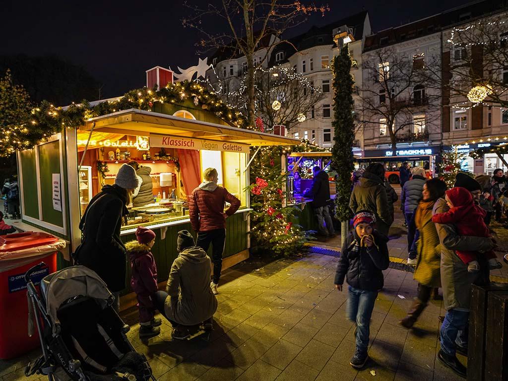 Weihnachtsbilder Hamburg.Weihnachtsmarkt Weihnachtsbummel Eppendorf Hamburg De