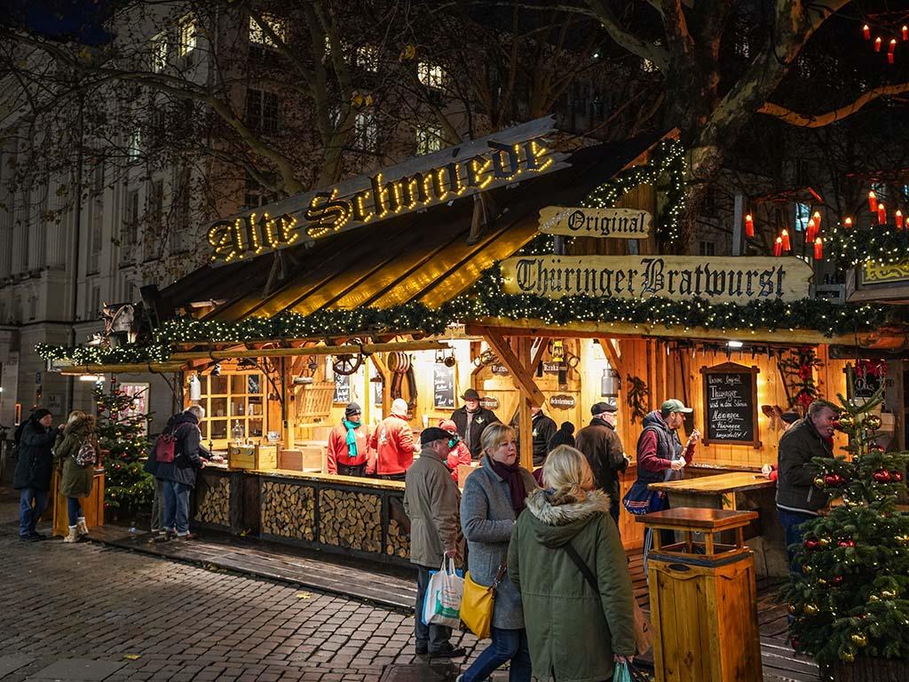 Wo Ist Weihnachtsmarkt Heute.Weihnachtsmarkt Gerhart Hauptmann Platz Winterwald In Der City