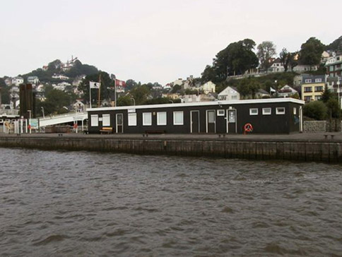 Messstation Blankenese an der Elbe