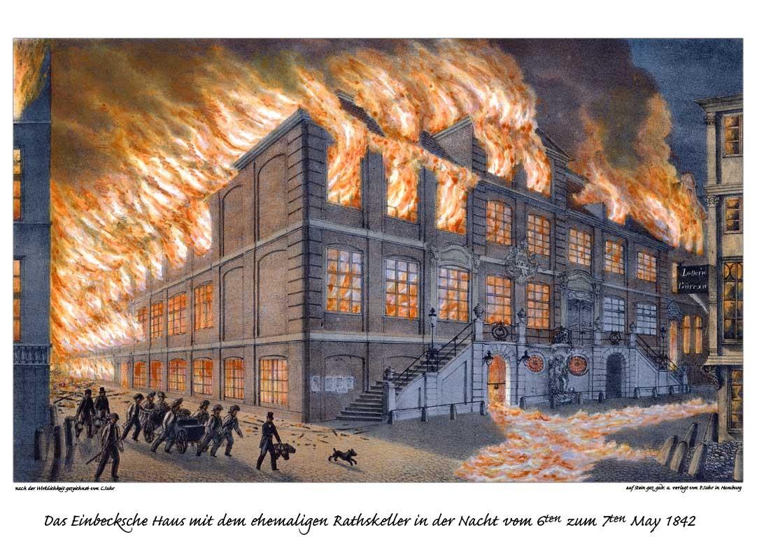 Hamburg Brand - Eine Stadt in der Feuerhölle - hamburg.de
