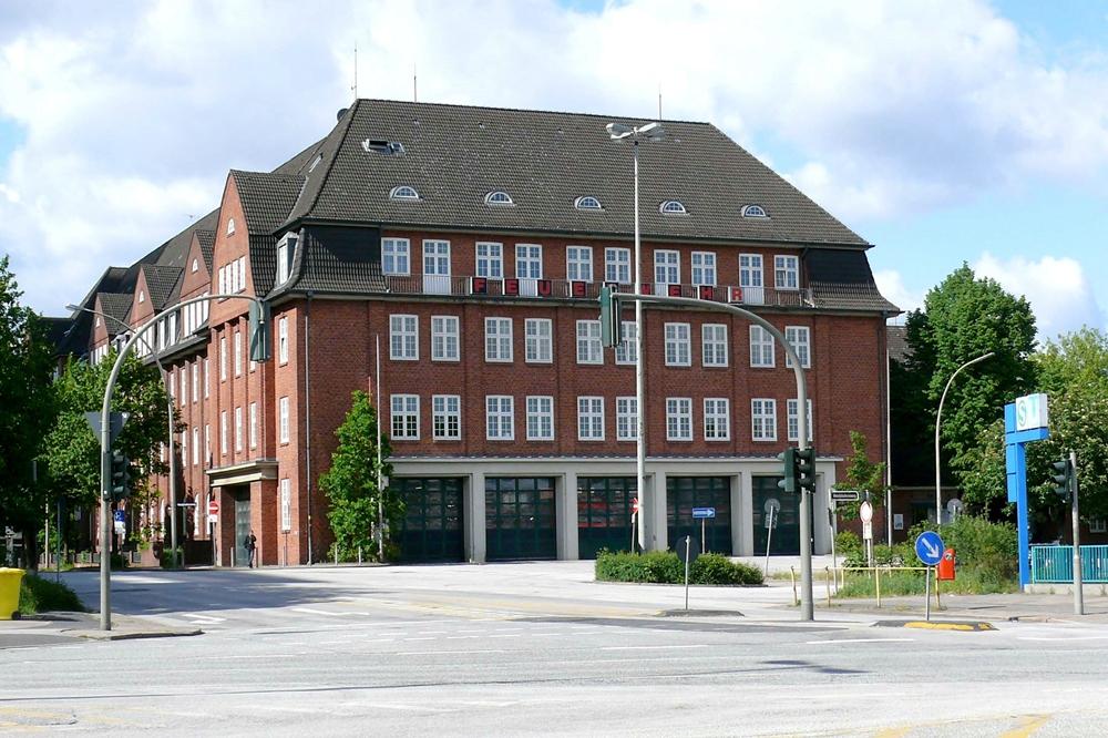 Feuer Und Rettungswache Berliner Tor Hamburgde