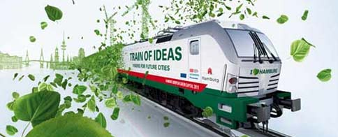 Train of Ideas visits Barcelona