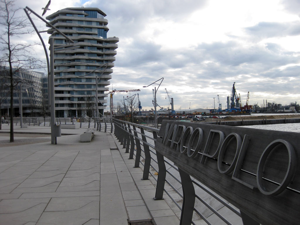 Marco-Polo-Tower Hamburg - Bilder, Informationen - hamburg.de