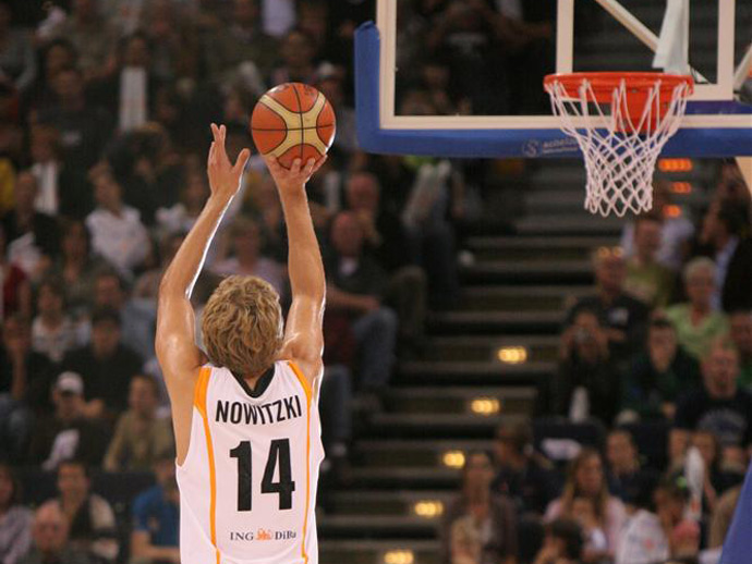 Basketball, Nowitzki