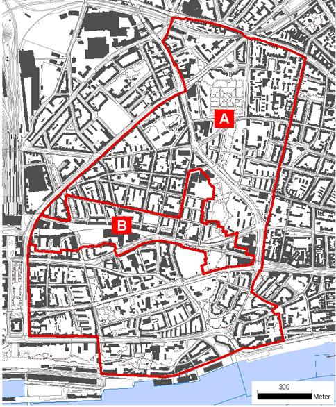 altstadt hamburg karte RISE Gebiet Altona Altstadt   hamburg.de