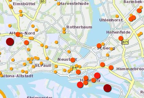 Hamburg Karte Sehenswurdigkeiten.Stellenausschreibung Hamburg De