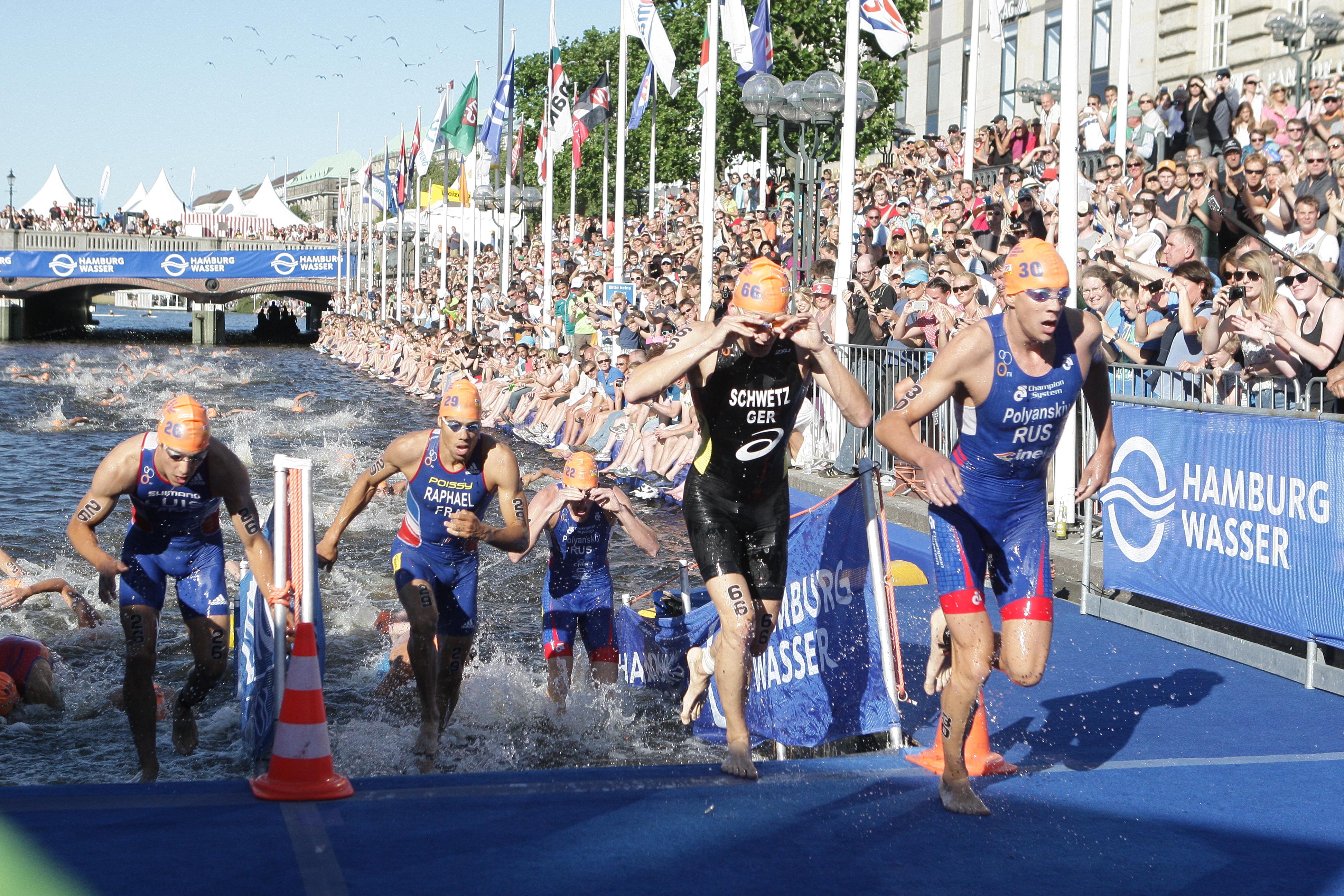 Das war los beim Hamburg Triathlon 2011 / Juli / 2011 / Sportliches ...