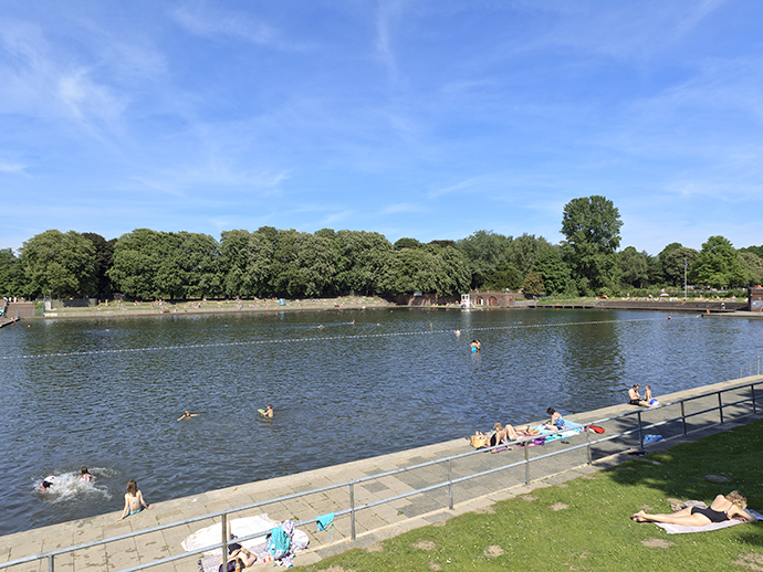 Naturbad Stadtparksee