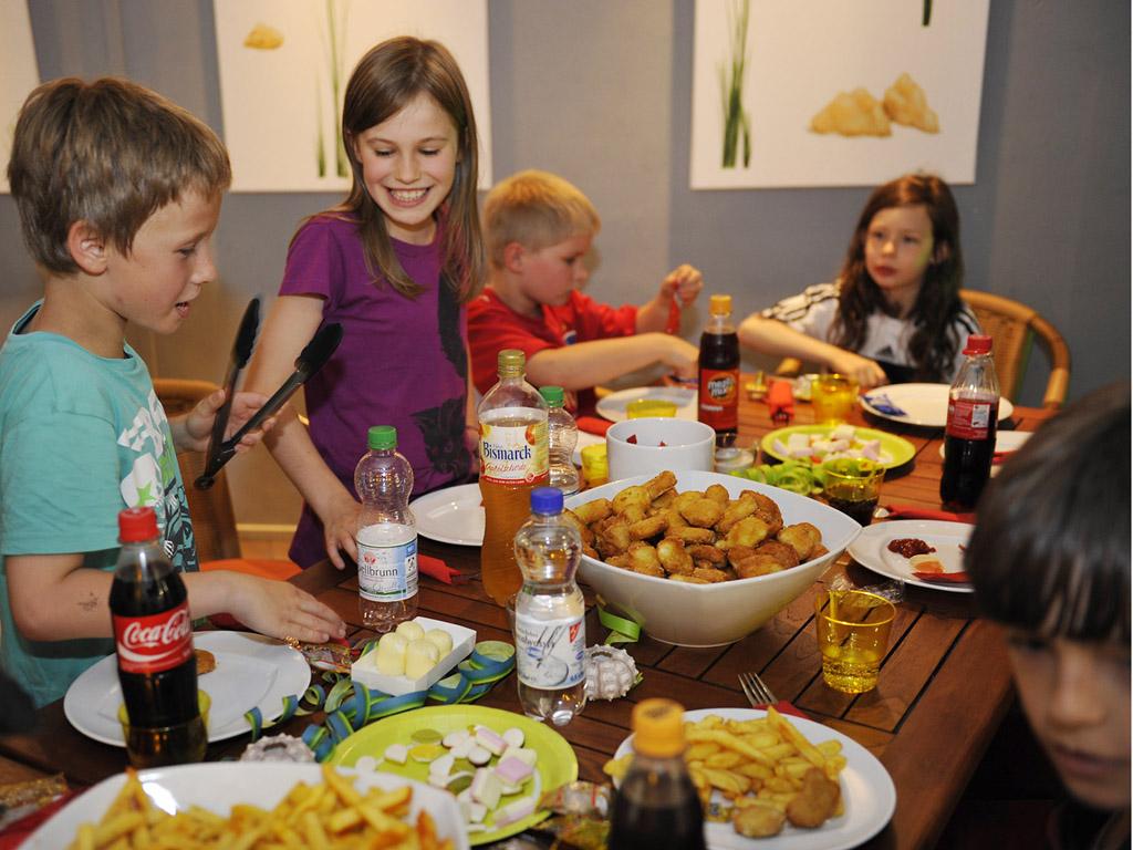 Geburtstag essen familie
