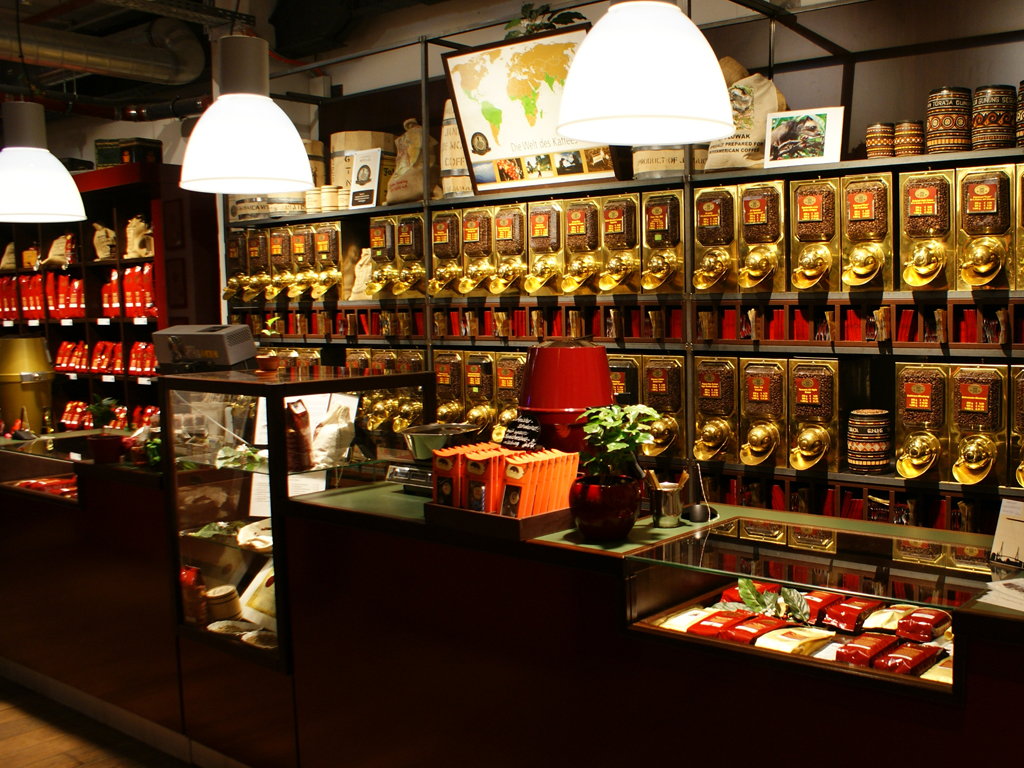 speicherstadt kaffeerösterei verkostung