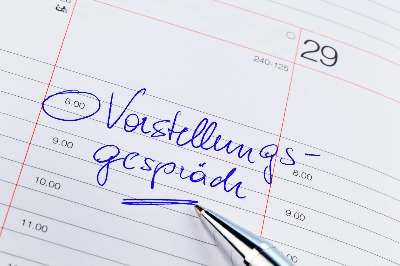 erfolgreich im bewerbungsgespräch - hamburg.de, Einladung