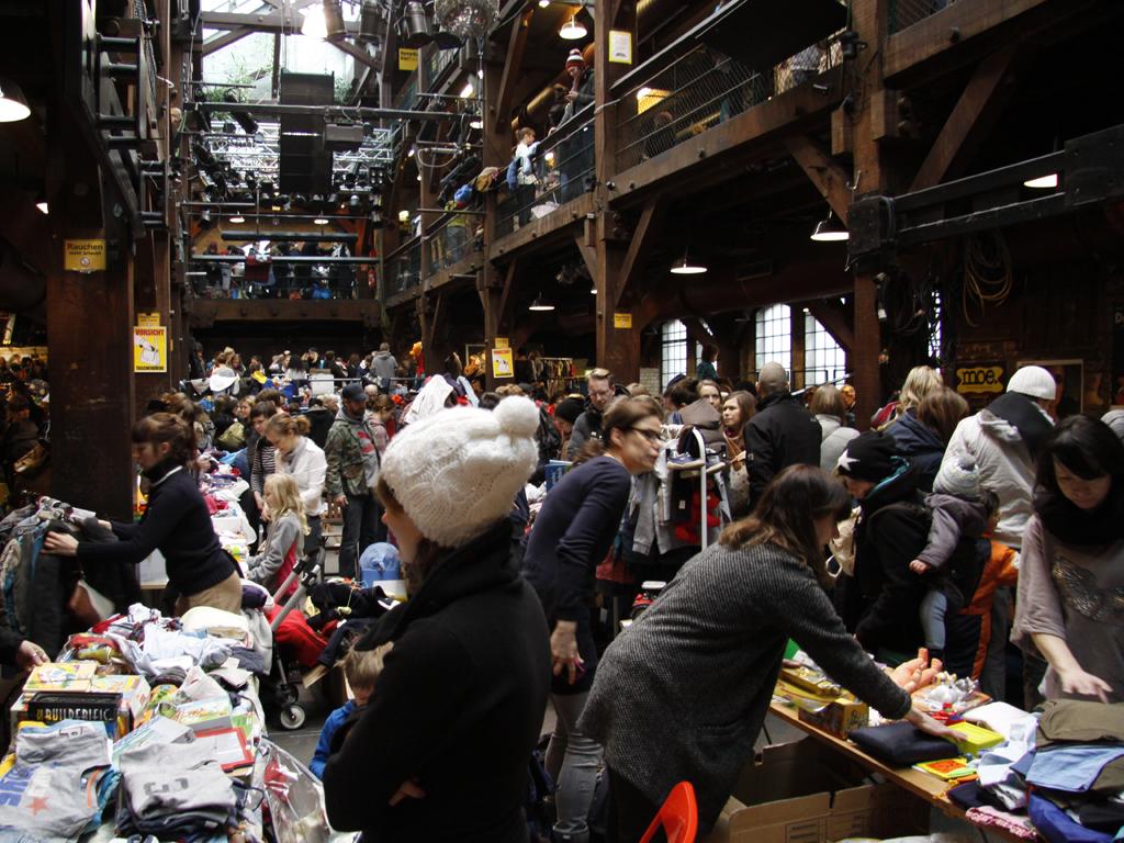 Frauenflohmarkt bergedorf
