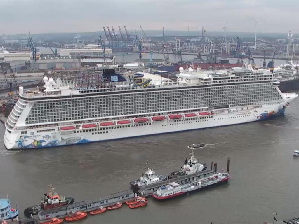 Livecam Hotel Hafen Hamburg
