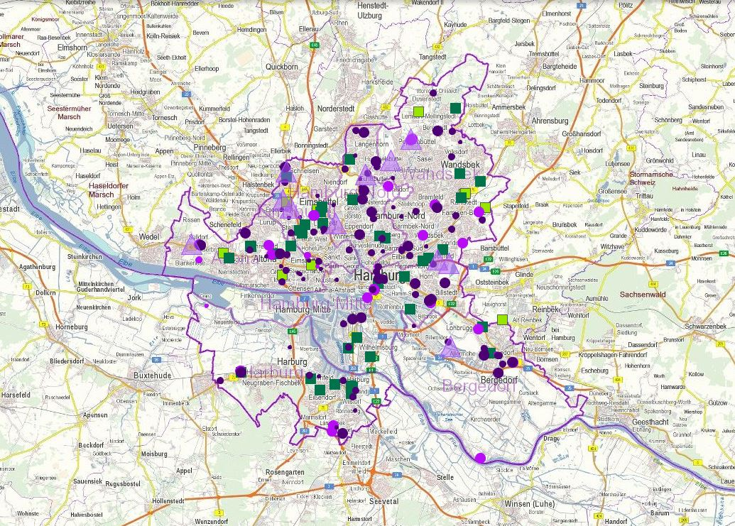 Hotel hamburg karte my blog for Gunstige hotels in hamburg mit fruhstuck
