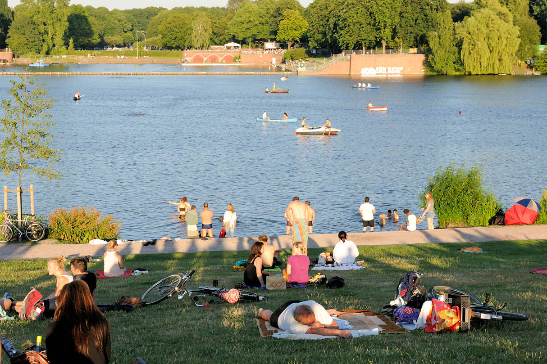Stadtpark Badesee
