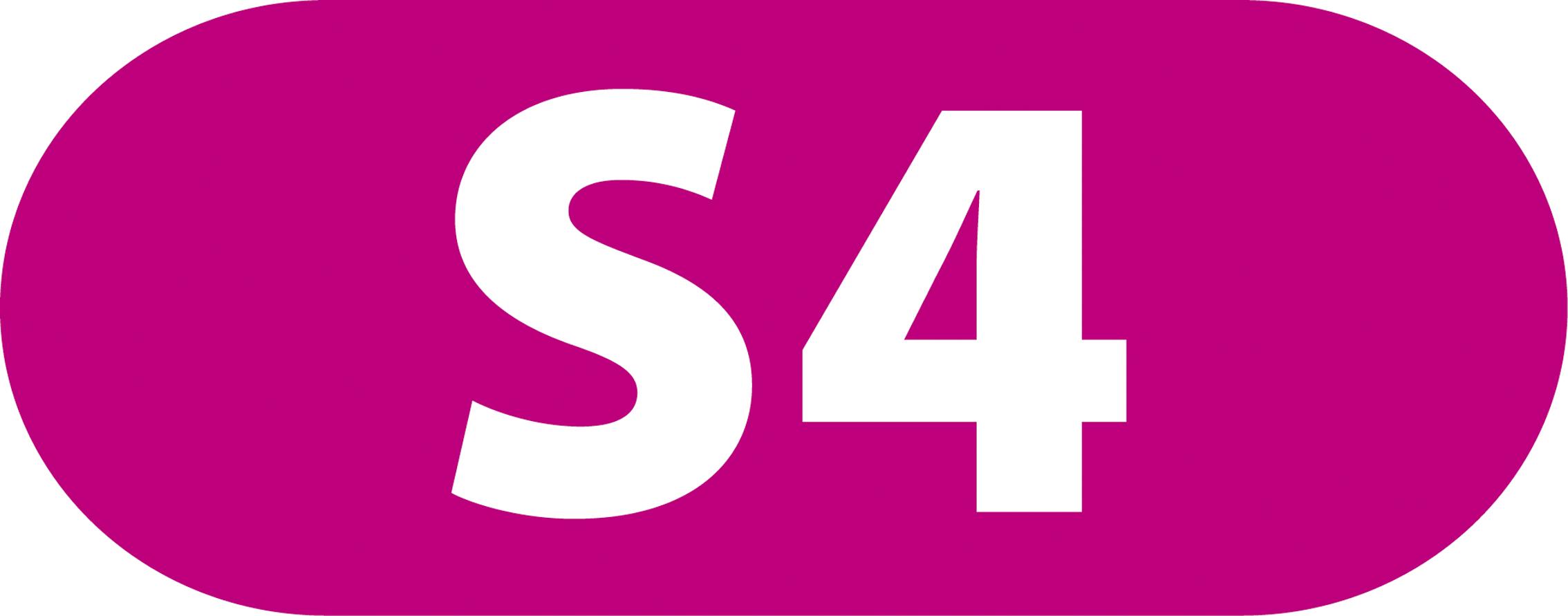 Bildergebnis für logo s-bahn s4