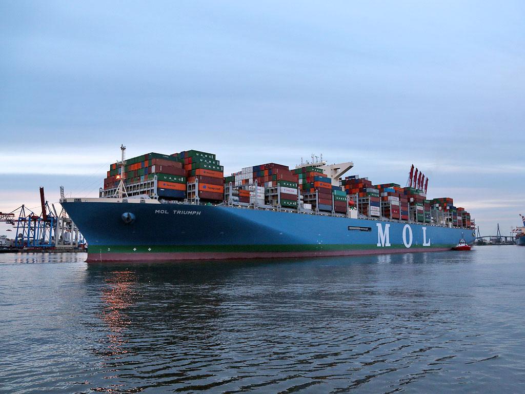 größter containerfrachter der welt