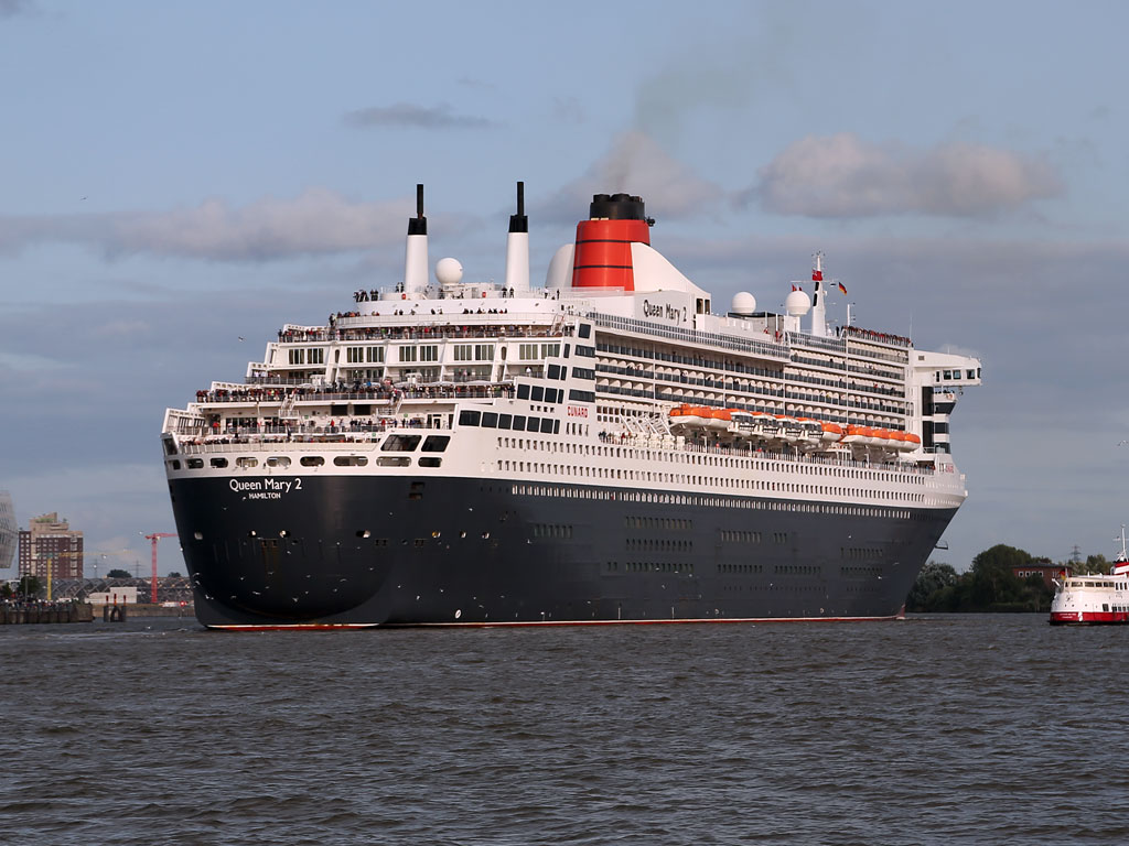 Queen Mary 2 In Hamburg Termine Route Standort Hamburgde