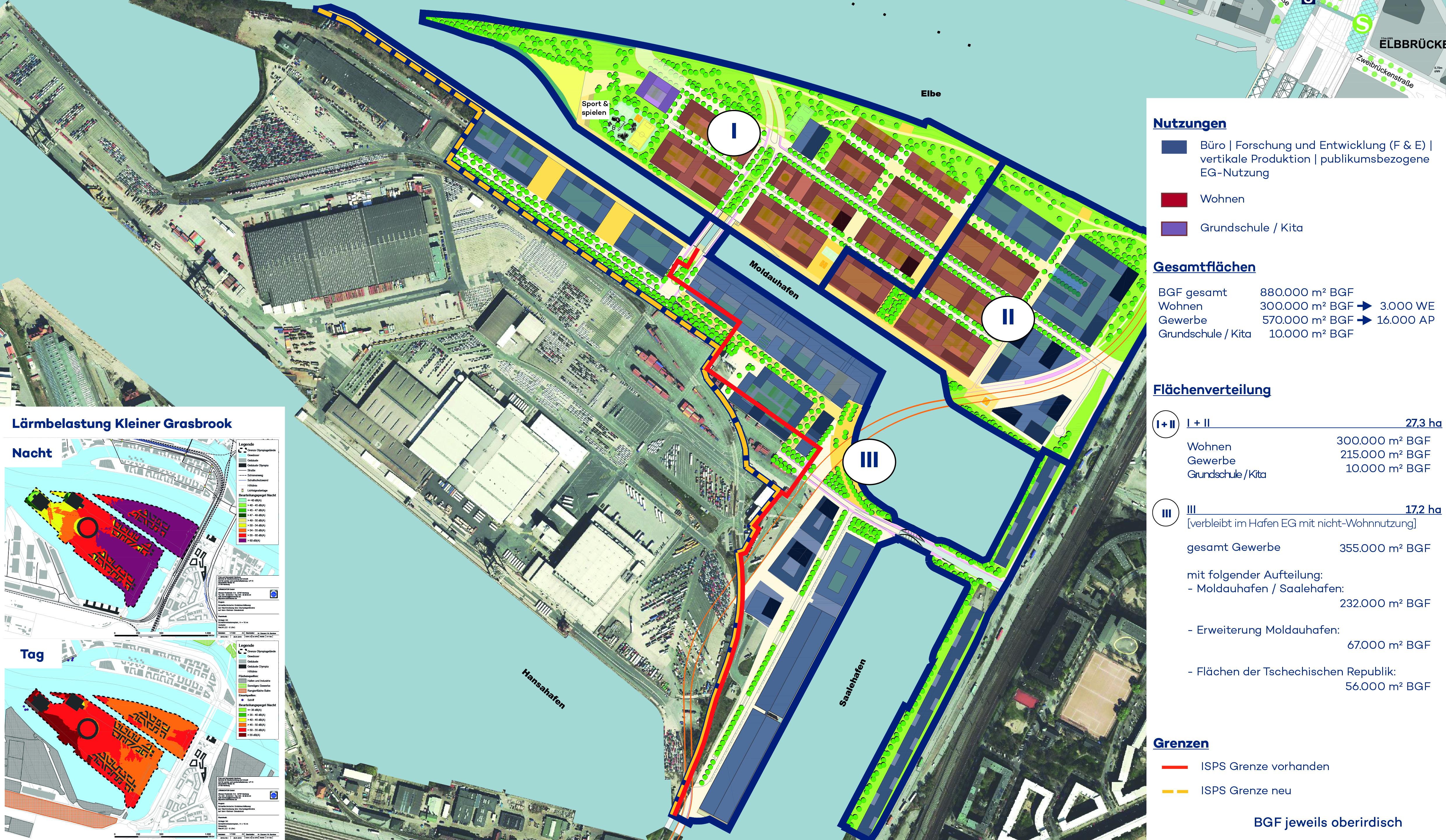 HafenCity Hamburg - Grasbrook: Ein neuer urbaner Stadtteil für Hamburg