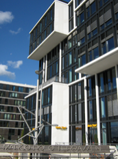 MSH Medical School Hamburg - Außenansicht