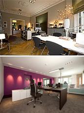 helmut warnstedt - w+p interiors licht, büroeinrichtung, Innenarchitektur ideen