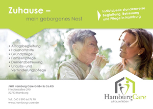 Hamburg Care - Flyer