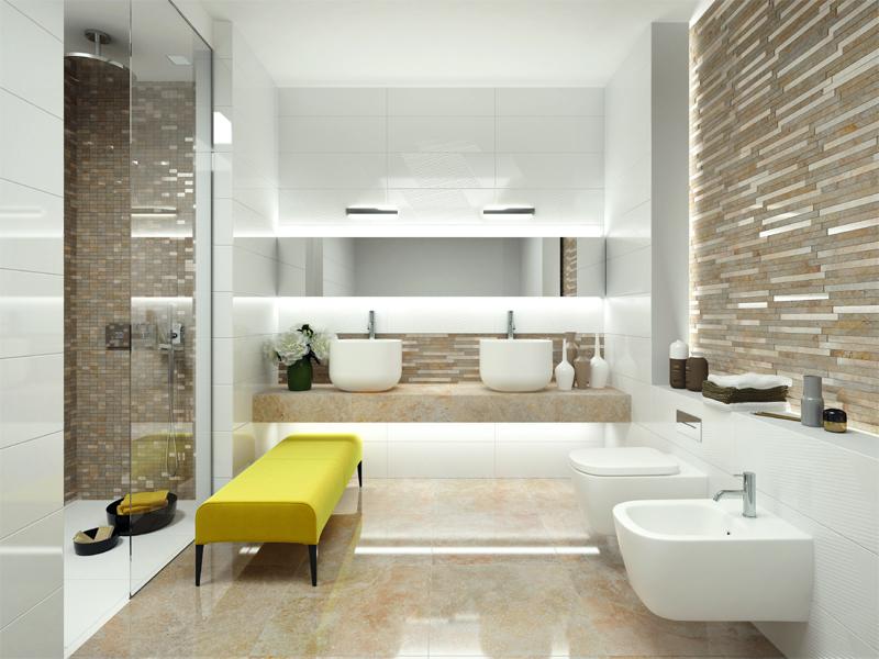 Badezimmer Fliesen Mosaik OD88 – Hitoiro