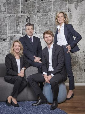 Hamburger Volksbank Immobilien - Teamfoto