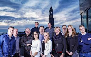 Teamfoto der IMMOJECTS GmbH