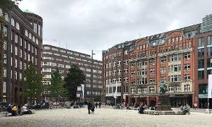 Gänsemarkt in Hamburg
