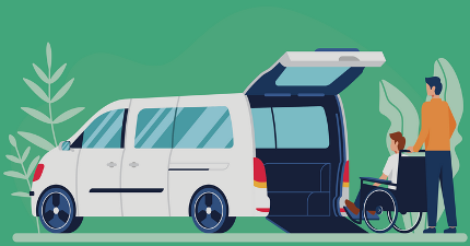 Rent Now CARE - Van-Transporter