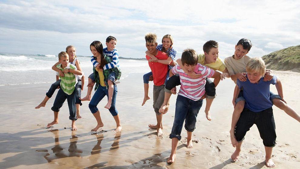 Jugendliche strand Pauschalreisen: Griechenland