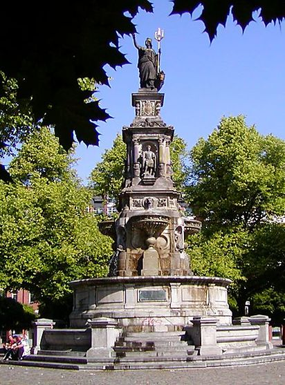 Brunnen Hamburg.Hansaplatz Hamburg Adresse Bilder Informationen Hamburg De