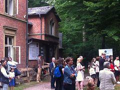 Sommerfest und Spatenstich mit Staatsminister Niels Annen