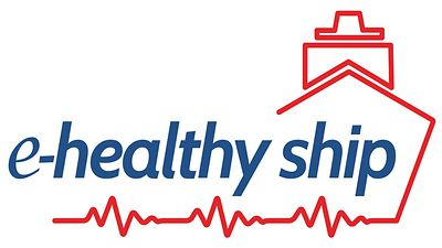 Logo e-healthy ship