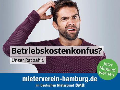 Mieterverein_Kampagne Q4-2018_Betriebskonfus / Mieterverein zu Hamburg