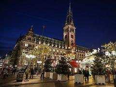 Hamburg Weihnachtsmarkt 2019.Weihnachtsmarkt Rathausmarkt Hamburg De