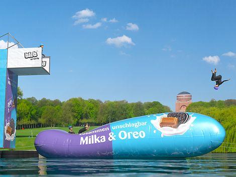 Milka Charity-Blobbing-Event