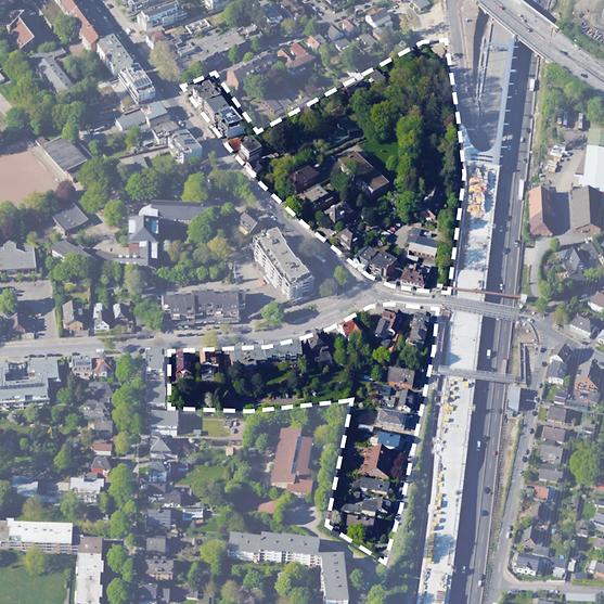 Bild_Planungsgebiete Städtebaulicher Wettbewerb Frohmestraße