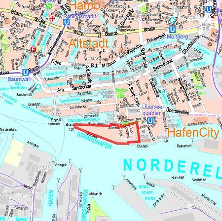 hamburg hafencity karte Bebauungsplan Entwurf HafenCity 7 hamburg.de   hamburg.de