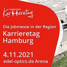 """Das Plakat des Karrieretages Hamburg mit Infos zur Veranstaltung und dem Motto """"Hol dir deinen neuen Job"""""""