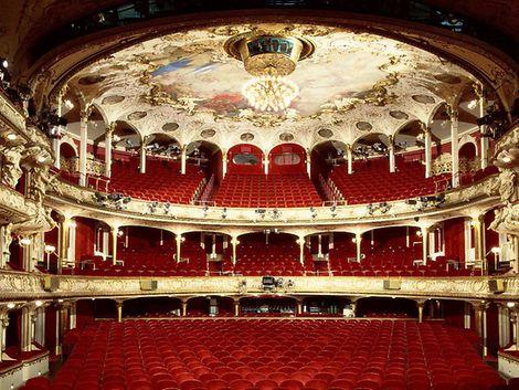 Deutsches Schauspielhaus in Hamburg Außenansicht