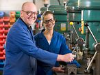 Ausbildung in der Metallwerkstatt / © ClipDealer/Monkey Business Images