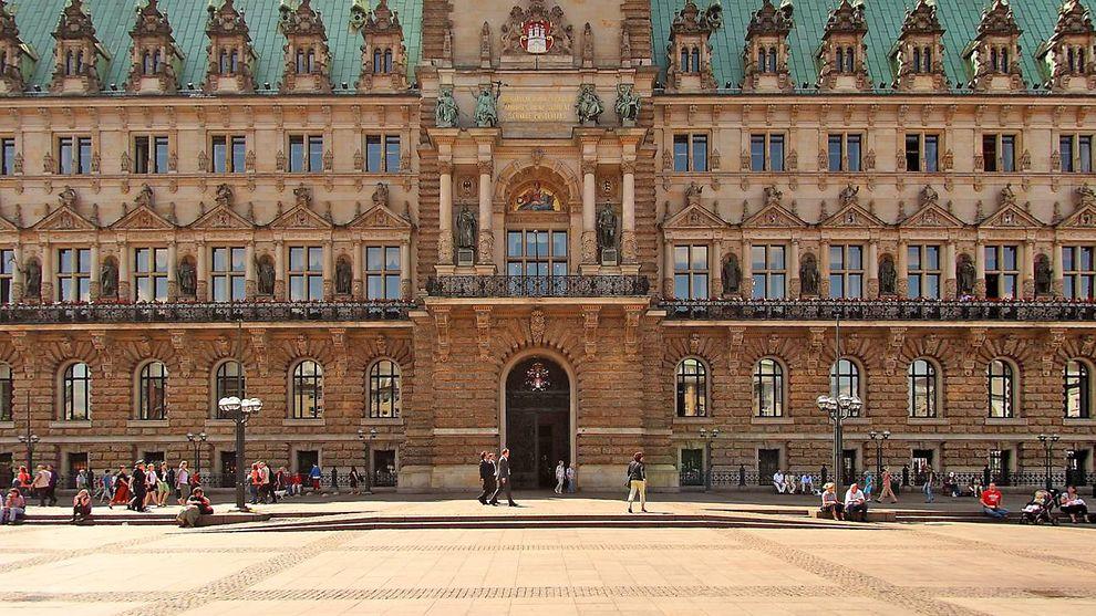 Rathaus Hamburg Virtueller Rundgang Hamburg De