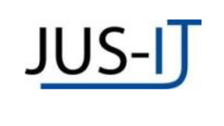 Logo des Projektes JUS-IT