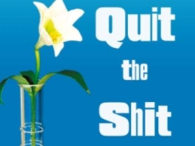 "Logo ""Quit the Shit"""