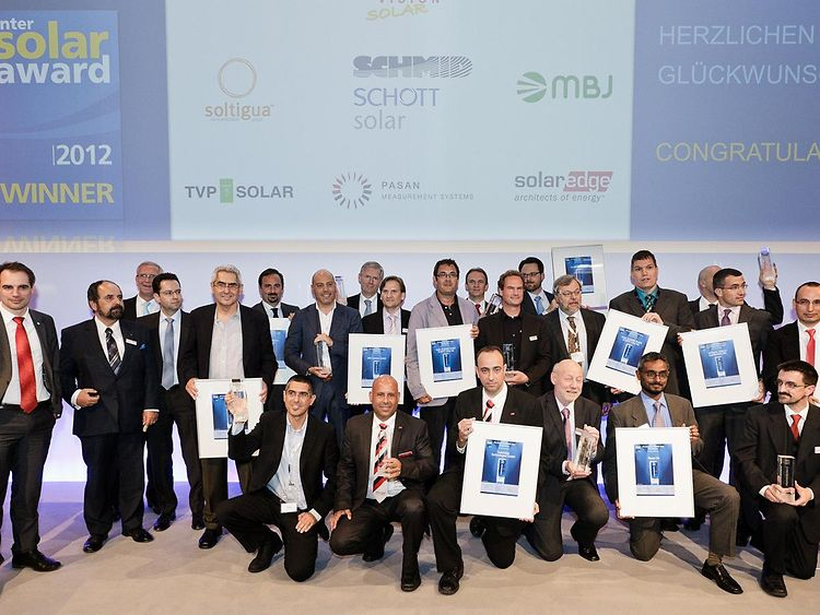 Intersolar AWARD 2012