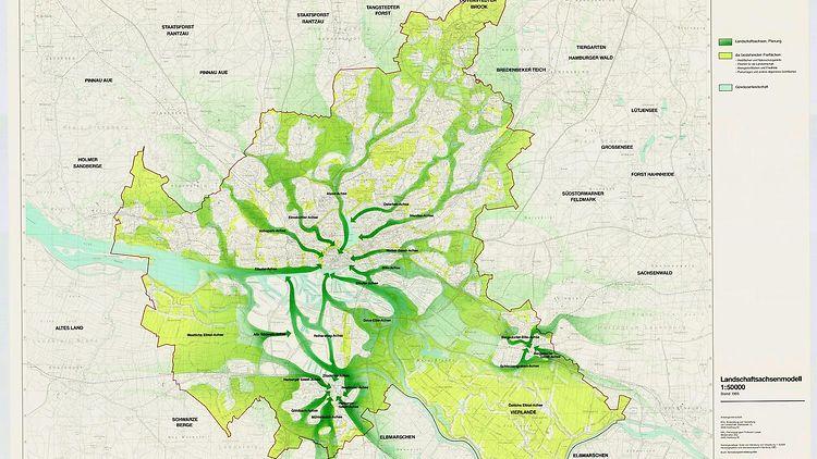 grüne karte hamburg Grünes Netz   hamburg.de